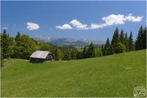 Landscapes Fundata and Şirnea