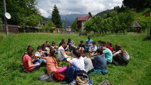 School Zarnesti – teacher Pepi Tilea, iunie 2016
